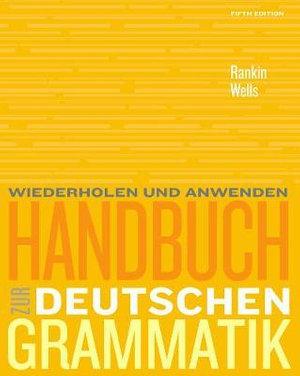 Cover of Handbuch zur deutschen Grammatik