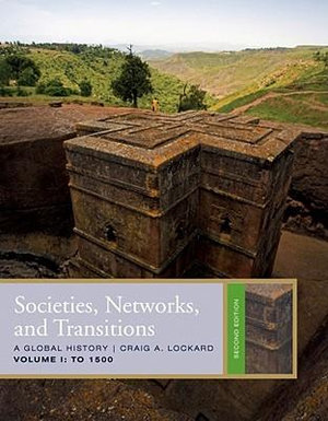 Cover of Societies, Networks, and Transitions, Volume 1: To 1500