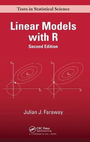 Cover of Linear Models with R, Second Edition