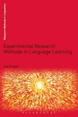 Cover of Experimental Research Methods in Language Learning