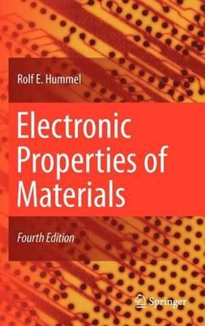 Cover of Electronic Properties of Materials