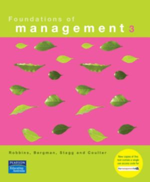 Cover of Foundations of Management