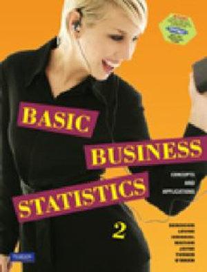 Cover of Basic Business Statistics (Australia) Digital Access Code Supplement