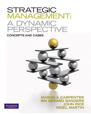 Cover of Strategic Management