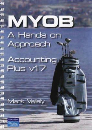 Cover of MYOB Accounting Plus V17