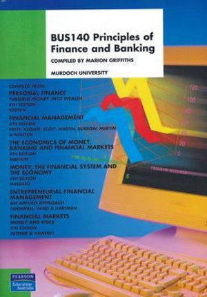 Cover of BUS140 Principles of Finance and Banking