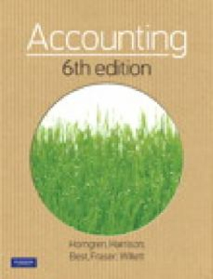 Cover of Accounting with myAccountingLab