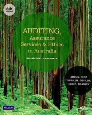Cover of Auditing, Assurance Services and Ethics in Australia