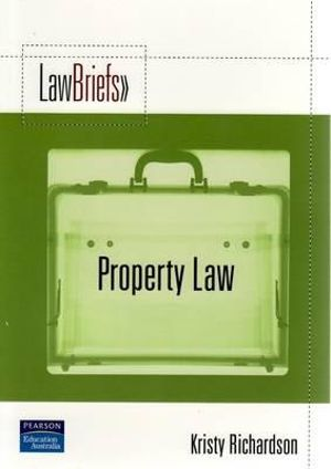 Cover of Pearson Law Briefs Property Law