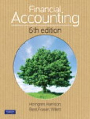 Cover of Financial Accounting (Aus)