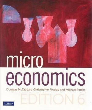 Cover of Microeconomics (Aus)