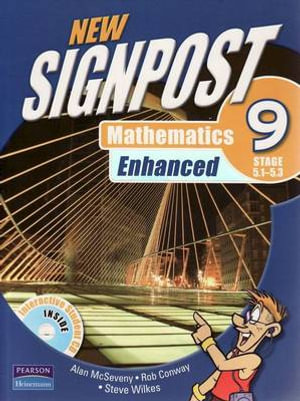 Cover of New Signpost Mathematics Enhanced 9 (5.1-5.3) Student Book
