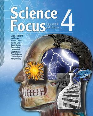 Cover of Science Focus 4 Student Book 2nd Edition