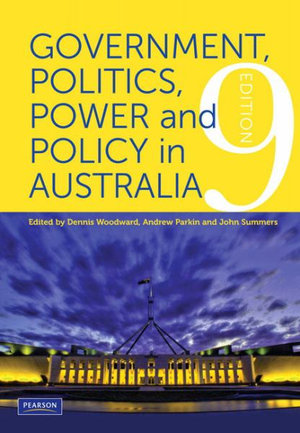 Cover of Government, Politics Power & Policy Aust