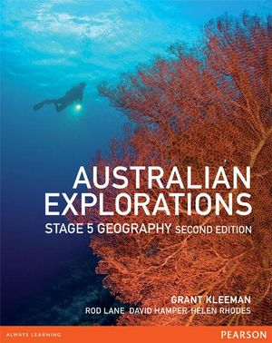 Cover of Australian Explorations Stage 5 Student Book 2nd Edition