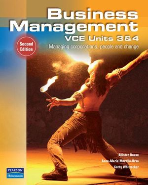 Cover of Business Management VCE Units 3 and 4