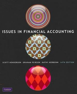 Cover of Issues in Financial Accounting