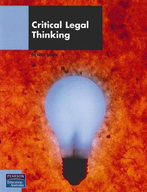 Cover of Critical Legal Thinking Sprintprint