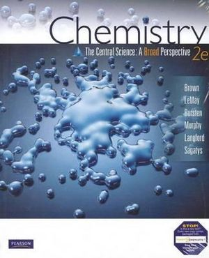 Cover of Chemistry The Central Science (Aus)