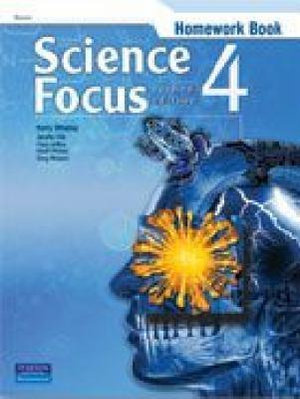 Cover of Science Focus 4 Homework Book 2nd Edition
