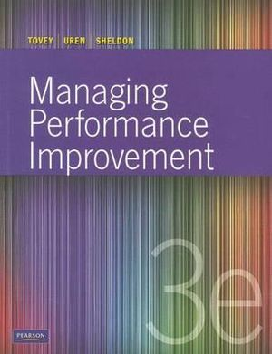 Cover of Managing Performance Improvement