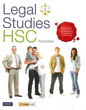 Cover of Legal Studies HSC