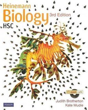 Cover of Heinemann Biology HSC