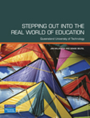 Cover of Stepping Out into the Real World of Education Pearson Original