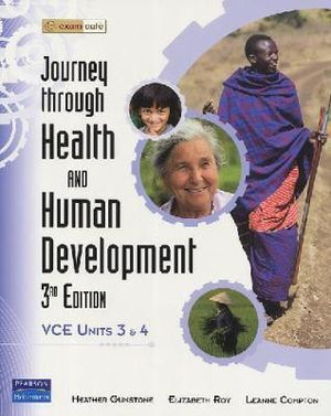 Cover of Journey Through Health and Human Development 3&4 Student Book 3rd Ed