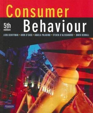 Cover of Consumer Behaviour (Aus)