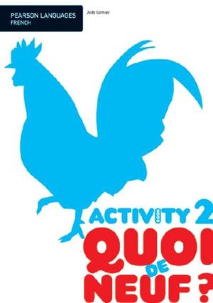 Cover of Quoi de Neuf?.: activity book (96 p.)