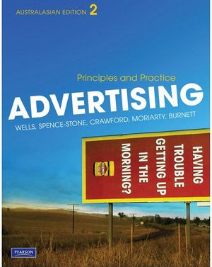 Cover of Advertising: Principles & Practices