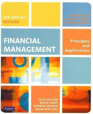 Cover of Financial Management 5e (Revised)