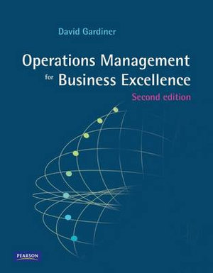Cover of Operations Management for Business Excellence