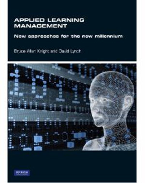 Cover of Applied Learning Management:Methods and Approaches for the New          Millennium Pearson Original
