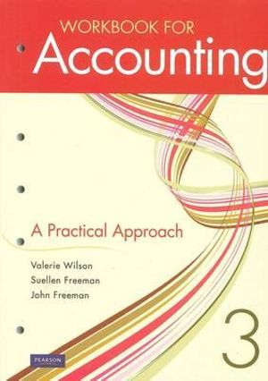 Cover of Accounting: A Practical Approach Workbook