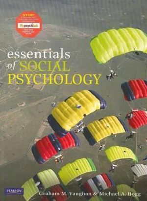 Cover of Essentials of Social Psychology