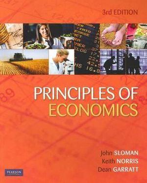 Cover of Principles of Economics 3e