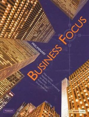 Cover of Business Focus Preliminary Student Book