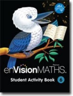 Cover of enVisionMATHS Student Activity Book 6