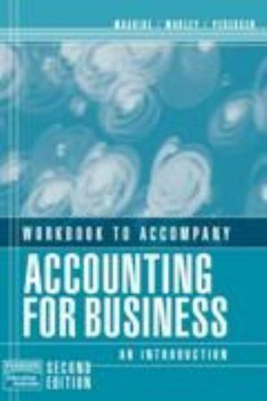Cover of Workbook to Accompany Accounting for Business : an Introduction, Second Edition