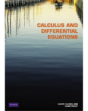 Cover of Calculus and Differential Equations