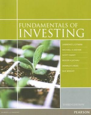 Cover of Fundamentals of Investing
