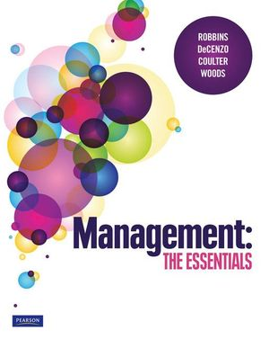 Cover of Management: The Essentials