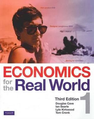 Cover of Economics for the Real World 1