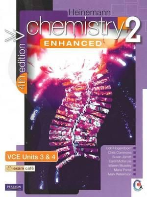 Cover of Heinemann Chemistry 2 Enhanced Student Book 4th Edition