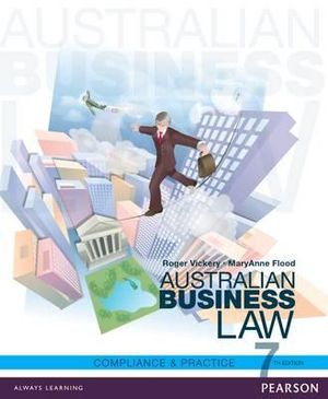 Cover of Australian Business Law: Compliance and Practice