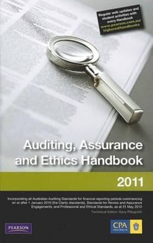 Cover of Auditing, Assurance and Ethics Handbook 2011