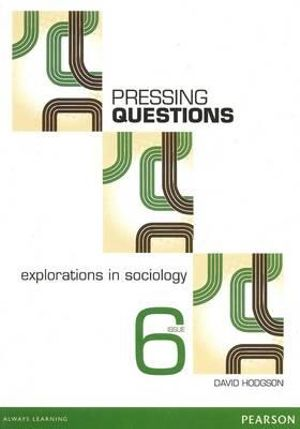 Cover of Pressing Questions: Explorations in Sociology