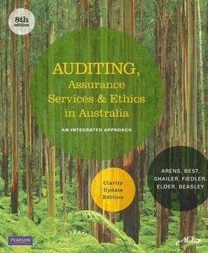 Cover of Auditing and Assurance Services in Australia, Clarity Edition